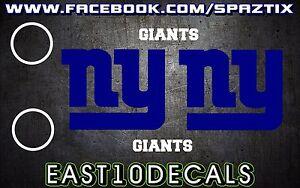New-York-Giants-Cornhole-Decal-sticker-wall-6-pc-Set-Football-NY