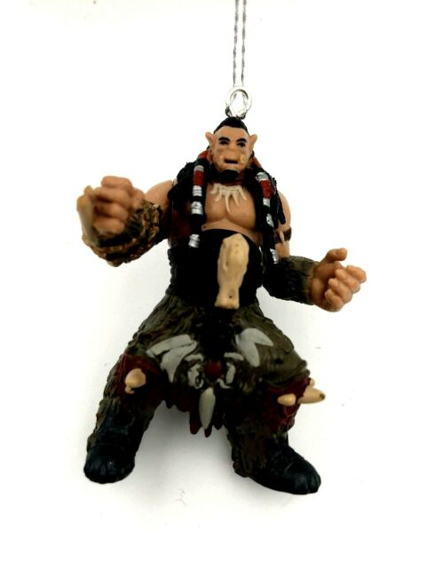 World Of Warcraft Durotan Orc Christmas Tree Ornament 2 ...