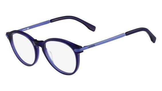 e86750b806 Lacoste L2718 424 Blue Eyeglasses RX 2714 for sale online