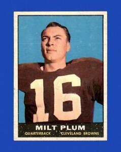 1961 Topps Set Break # 68 Milt Plum EX-EXMINT *GMCARDS*
