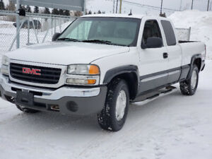 2004 GMC Sierra 1500 4x4 Ext cab Slt Z71 Leather Heated Seat 210