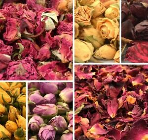 Celebrations 100/% Natural 50gDried Rose Petals Flower For Wedding Confetti