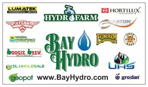 Hydroponics CoCo BAY HYDRO $ 10L = 2.5 Gal Course Perlite #3 For Seed Starting