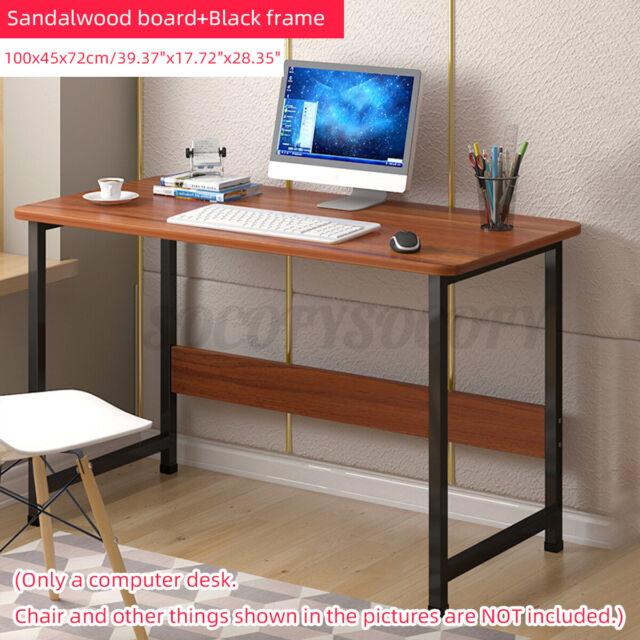 Desk L Shape Computer Workstation Study