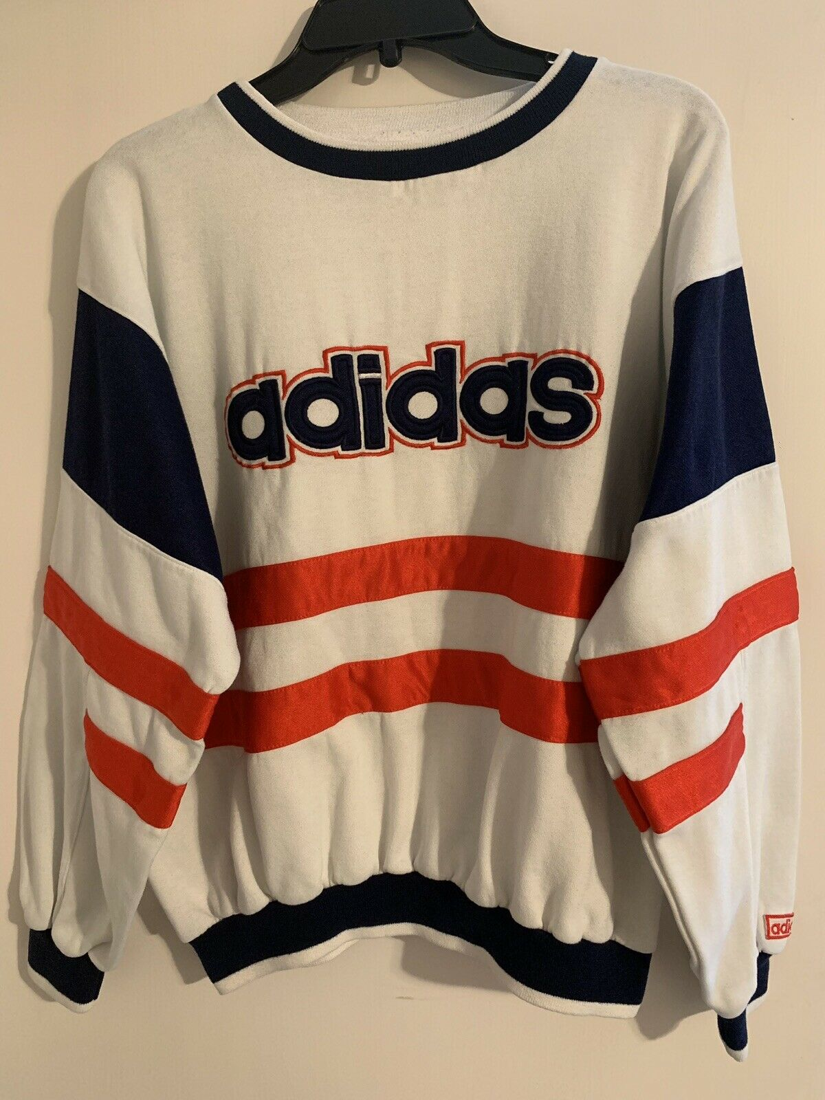 Adidas Vintage Three colors Print  Sweatear