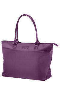 NEW-Lipault-Original-Plume-Shopping-Tote-Purple-68458-1717