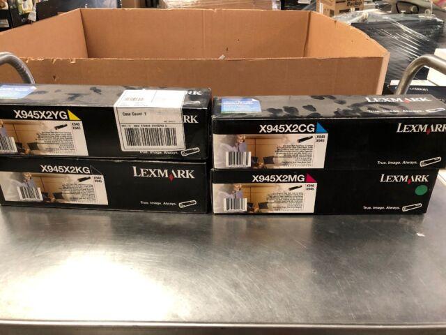 SEALED X940//X945 GENUINE Lexmark X945X2KG Black High Yield Toner Cartridge