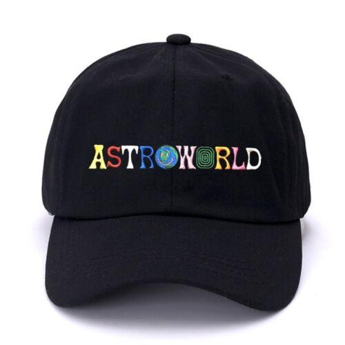 ASTROWORLD Dad Hat Travis Scotts Latest Album Astroworld Cap 100/% Cotton
