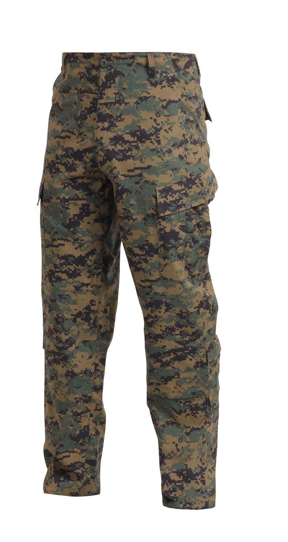 Woodland Digital Camouflage Military Uniform Pants redhco 5217