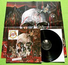 Slayer - South Of Heaven LP + Poster Geffen Records Def Jam 1988 MINT-