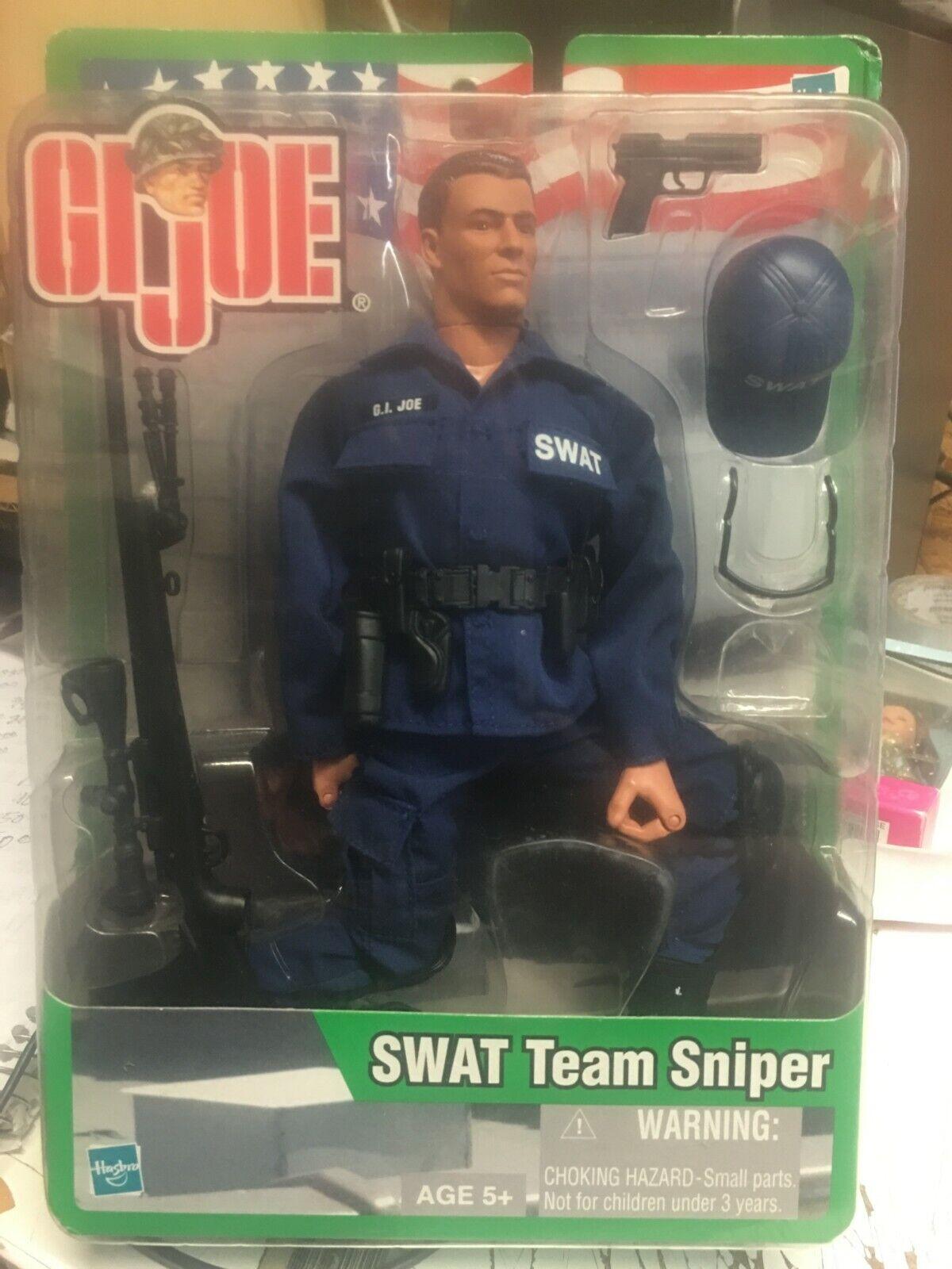 GI Joe Hasbro - 2002 - SWAT Team Sniper - VARIANT - BRAND NEW - RARE variant