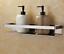 SUS 304 Brushed Nickel  Bath Shower Caddy Storage Shelf Basket Shower Organizer