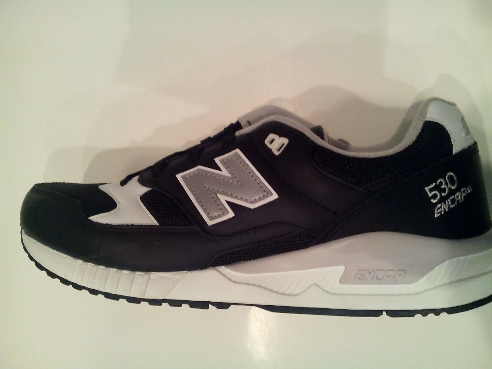 New Balance Men's Men's Men's 530 CLASSICS Running shoes Black White M530LGB a Email to frie 5cb321