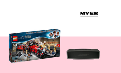 Last Minute Gifts at Myer!