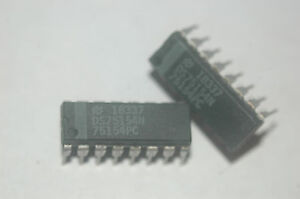NATIONAL DS75154N 75154PC 16-Pin Dip  Integrated Circuit 75154 New Part Qty-1