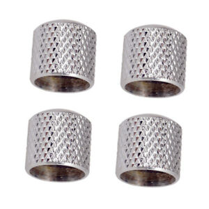 Pack-4pcs-Volume-Tone-Control-Knobs-Silver-for-Electric-Guitar-Bass-Parts
