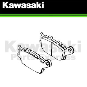 Details About New 2015 2018 Genuine Kawasaki Vulcan S 650 Rear Brake Pad Set 43082 0155