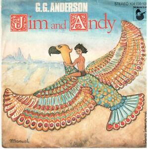 """7"""" Single: G. G. Anderson - Jim And Andy / Love Me Or Leave Me - Münster, Deutschland - 7"""" Single: G. G. Anderson - Jim And Andy / Love Me Or Leave Me - Münster, Deutschland"""