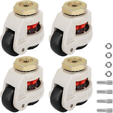 Gd 60s Set Of 4 Leveling Casters High Wearability Medical Footmaster Caster