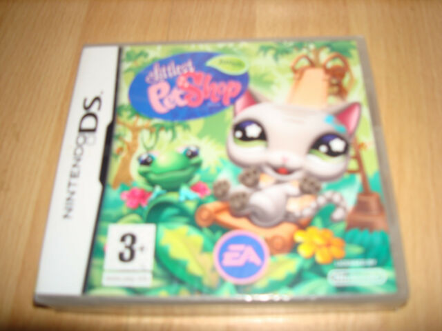 LITTLEST PET SHOP JUNGLE ** NEW & SEALED ** Nintendo Ds Game