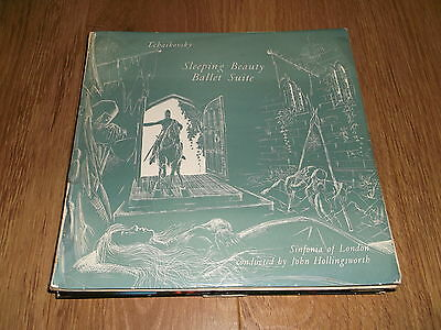 "TCHAIKOVSKY "" SLEEPING BEAUTY "" SINFONIA OF LONDON / JOHN HOLLINGSWORTH LP"
