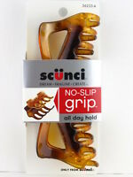 Scunci No Slip Grip Jaw Hair Clip - 1 Pc. - Tortoise (36233-a)