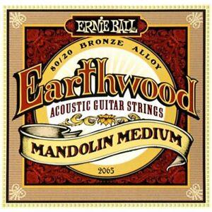 Ernie Ball 2065 Earthwood 80/20 Bronze Mandolin Strings-medium 10-36-afficher Le Titre D'origine PréVenir Le Grisonnement Des Cheveux Et Aider à Conserver Le Teint