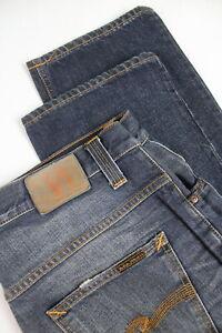 RRP-110-NUDIE-HANK-REY-ORG-DARK-ROPY-Men-W32-L34-Fades-Whiskers-Jeans-3889-mm