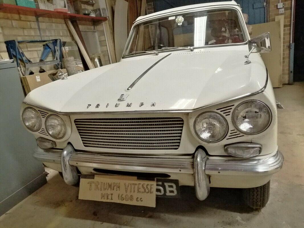 TRIUMPH VITESSE Mark I, 1964 ? 1600cc 6 cylinder - CLASSIC CAR