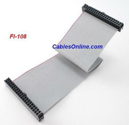FI-108 8 inch 40-Pin Female to Female IDE Cable