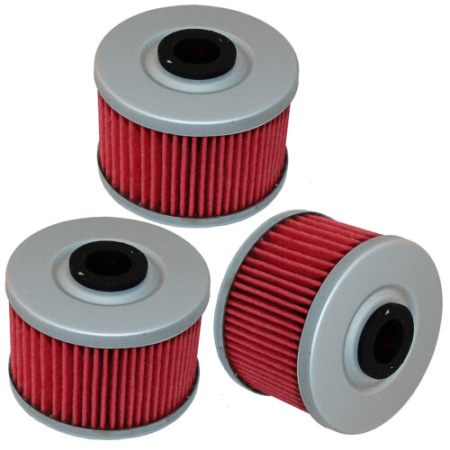 3 Pack Oil Filter for Honda TRX250X TRX-250X TRX 250X Fourtrax 1987 1988 91 1992
