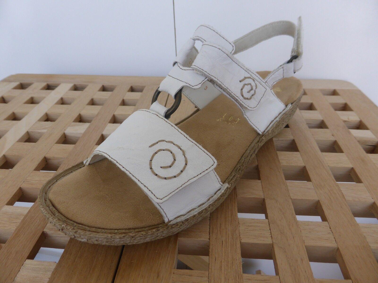 Rieker Sandale Sandalette Pantolette Gr. 40 - 43  white (80) NEU