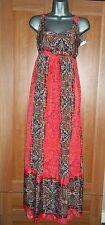 NEW Dorothy Perkins Ethnic Print Maxi Dress Size 6