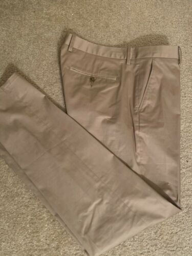 Men's Vince khaki Slim Pants Size 34x32