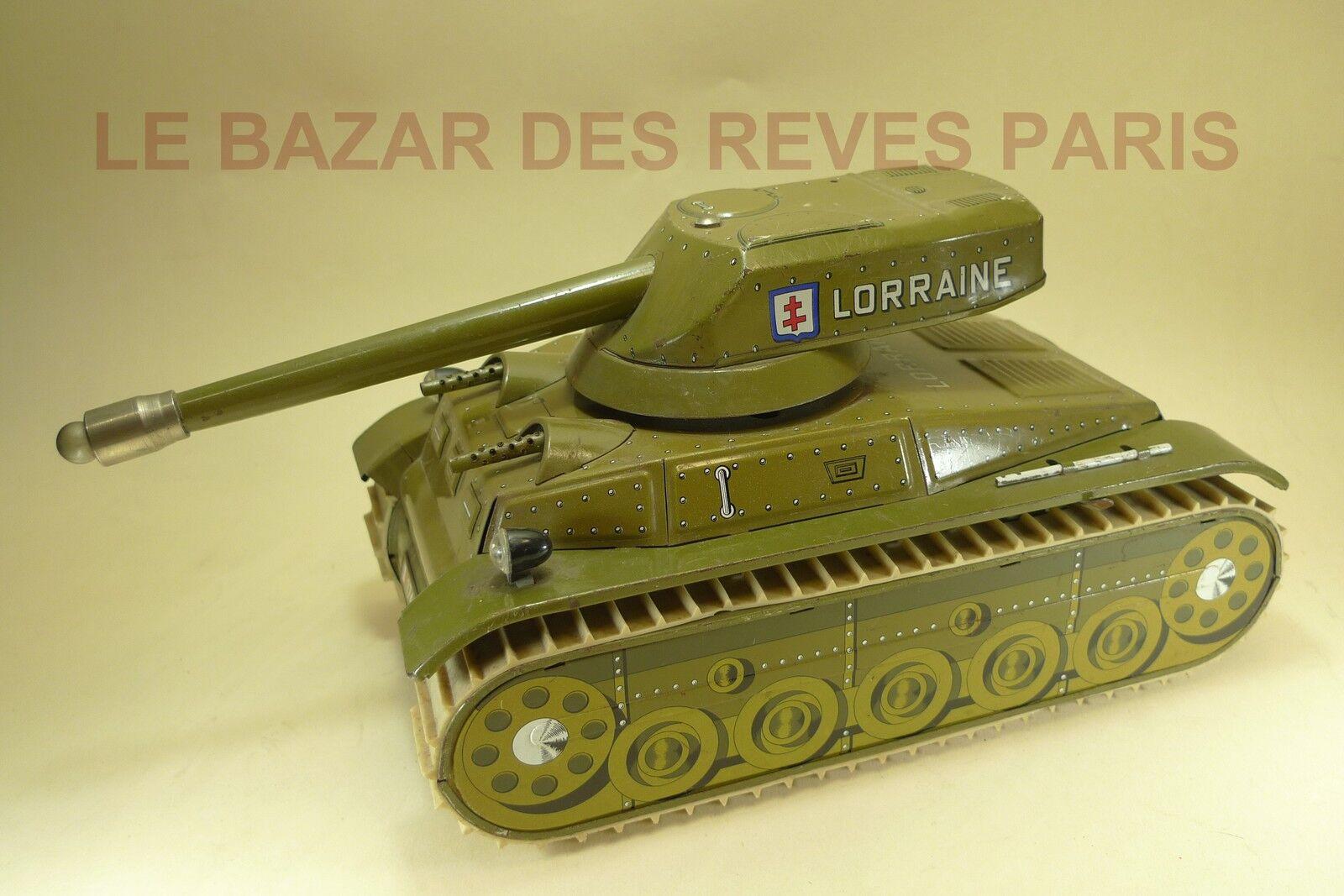 JOUSTRA  Char   Tank LORRAINE  REF  707