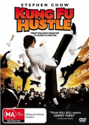 """1 of 1 - Kung Fu Hustle (DVD) Region 4 """"NEW AND SEALED"""""""