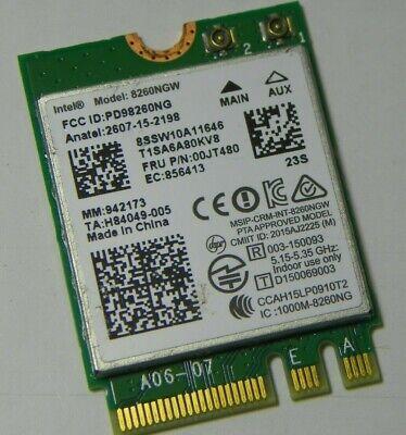 OEM HP 806721-001 Intel Dual Band Wireless-AC 8260 8260NGW Bluetooth NGFF