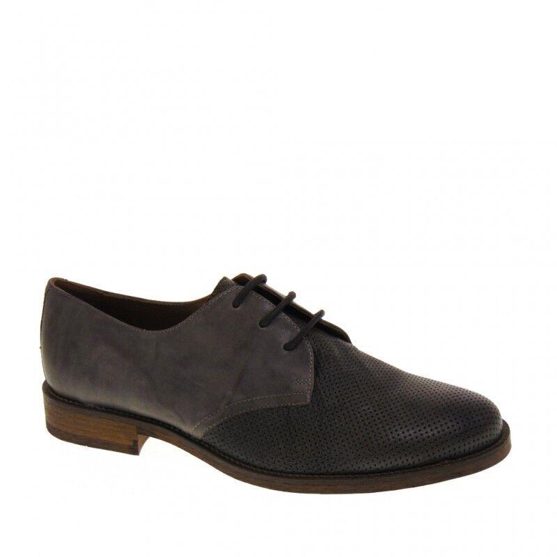 shoes FRANCESINE men ESTIVE ELEGANTICASUAL ANTICACUOIERIA 19800 grey CEMENTO