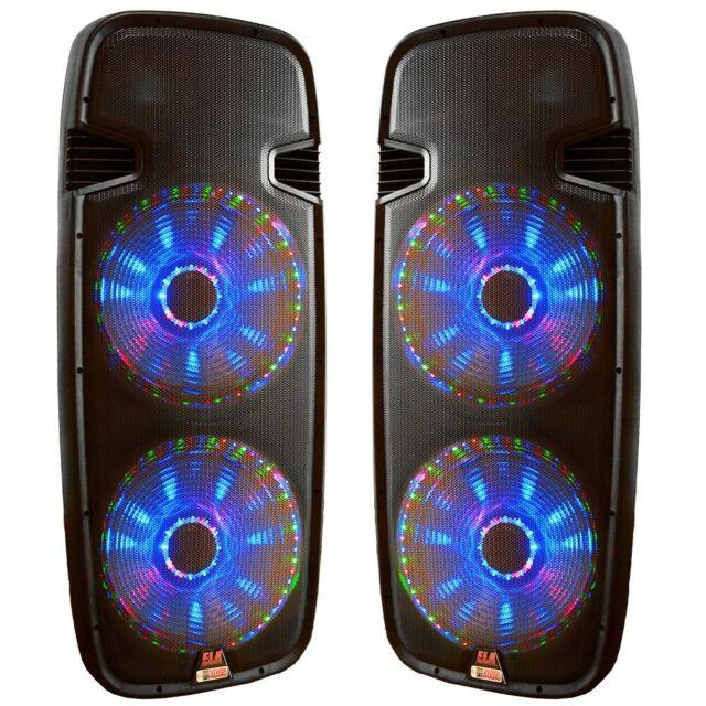 NEW Portable Digital MP3 Radio Speaker AM//FM USB TF LED 4W Battery Powered