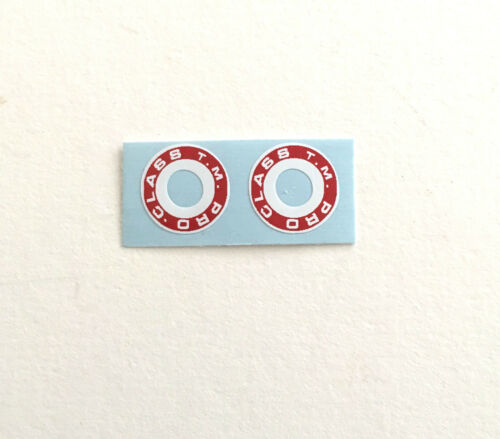 PAIR PRO CLASS BRAKE WASHER DECALS NEW! CHOICE OF 3 Colors