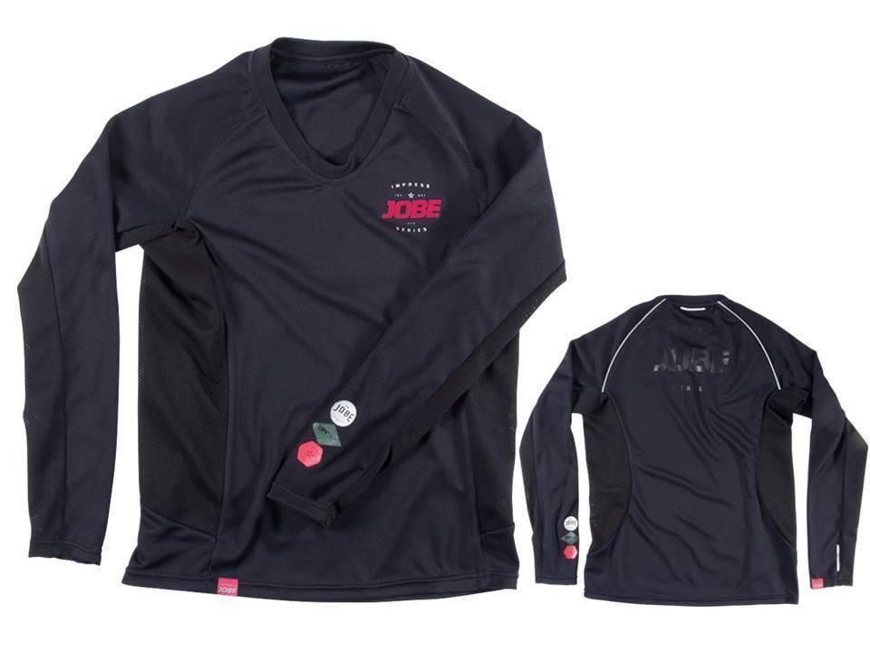 Jobe Impress Rash Guard Breathable LS Ladies Jetski Wakeboard Waterski Surf Kite