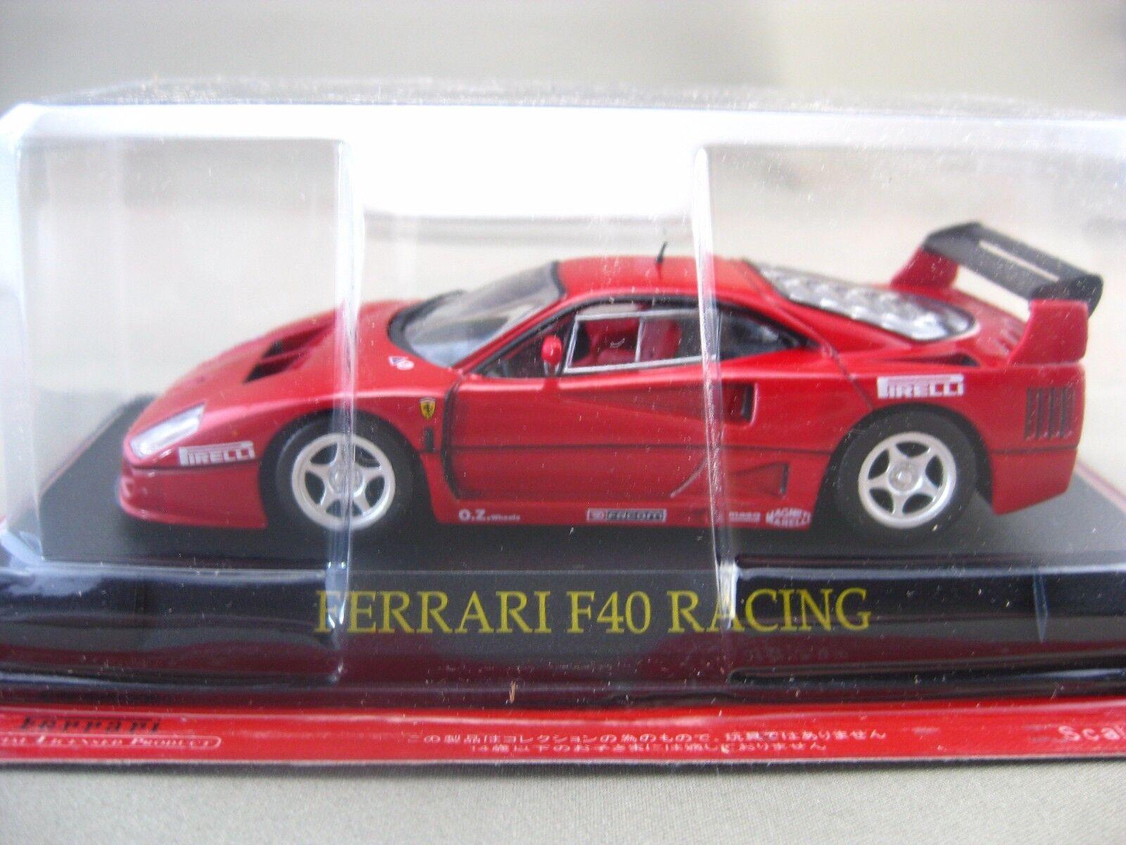 Ferrari  F40 RACING hachette 1 43 Diecast car Vol.40