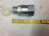 1 Parker Ps Series Hydraulic Hose Fitting Swivel, 11-1/2 Tpi, Steel
