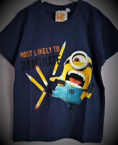 Minions T Shirt Short Sleeve White Blue Stuart Kevin T Shirt T2TC229