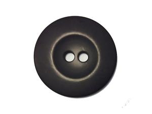 Jackenknopf / Mantelknopf 50 mm schwarz matt Jacken Mantel