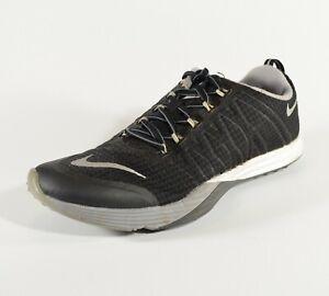 Nike-Lunar-Cross-Element-Crossfit-Shoes-Womens-Size-7-Black-euc-Gym-Shoes