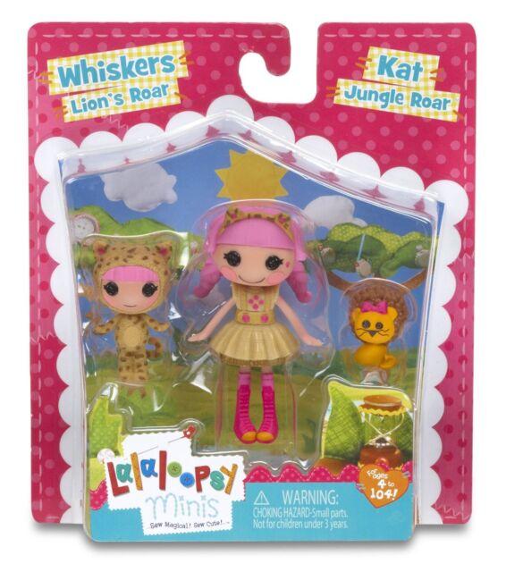 Mini Lalaloopsy Littles Dolls Kat Whiskers Lion S Roar Sisters
