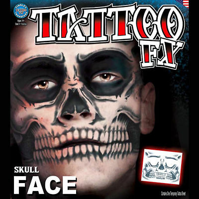 Ripped Flesh 3D FX Transfer Tinsley Temporary Tattoo Halloween Special FX MakeUp
