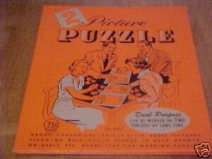 VINTAGE-DUAL-PURPOSE-PICTURE-PUZZLE-BOOK-NO-8107