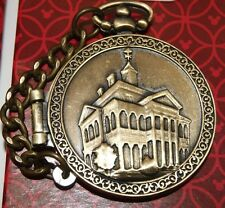 Disney Haunted Mansion O'Pin House Pocket Watch Pin NEW ON ORIGINAL CARD